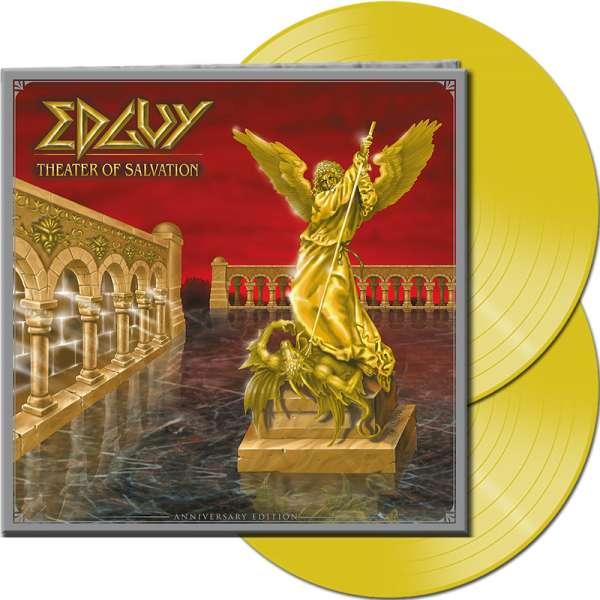 EDGUY - Theater Of Salvation (Anniversary Edition) - Ltd. Gatefold YELLOW 2-LP