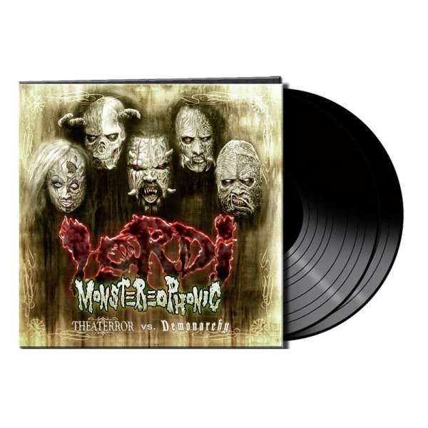 Lordi - Monstereophonic (Theaterror vs. Demonarchy) - Ltd. Gtf. Black 2-Vinyl