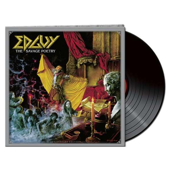 EDGUY – The Savage Poetry (Anniversary Edition) - Ltd. Gatefold BLACK LP