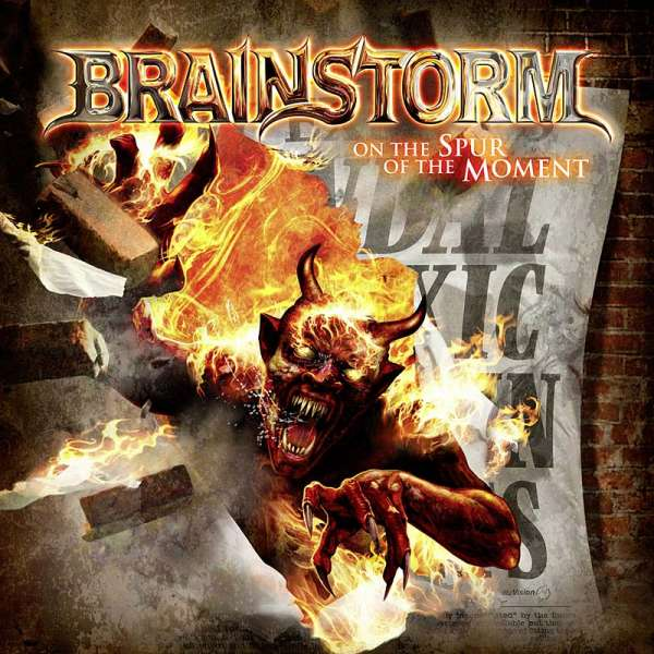 BRAINSTORM - On The Spur Of The Moment - CD Jewelcase