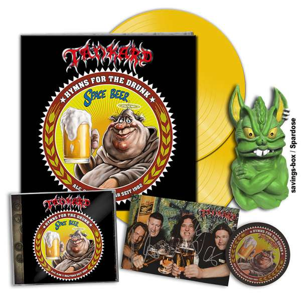 TANKARD - Hymns For The Drunk - Ltd. Boxset