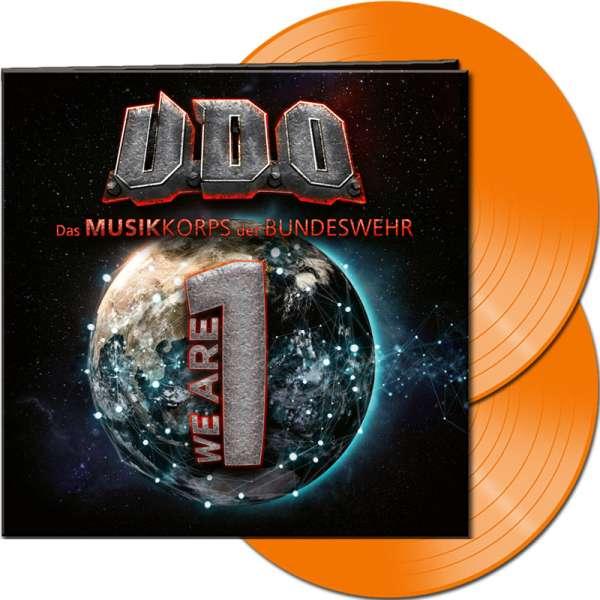 U.D.O. - We Are One - Ltd. Gatefold ORANGE 2-LP
