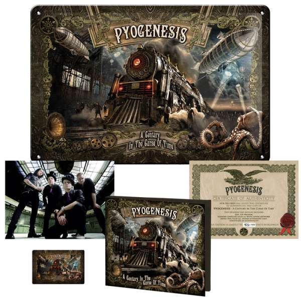 PYOGENESIS - A Century In The Curse Of Time - Ltd. Fanbox