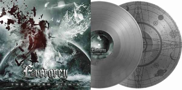Evergrey - The Storm Within - Ltd. Gtf. Silver 2-Vinyl