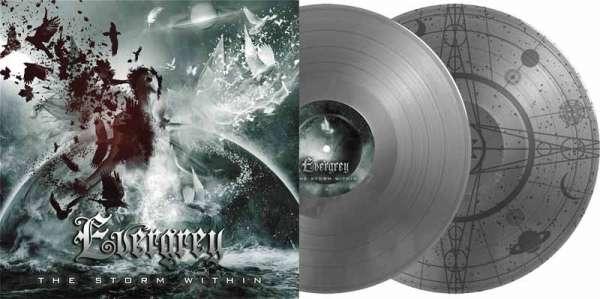 Evergrey - The Storm Within - Ltd. Gtf. 2-Vinyl Silber