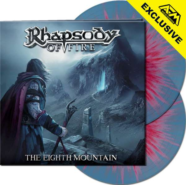 RHAPSODY OF FIRE - The Eighth Mountain - Ltd.Gtf.CLEAR BLUE/RED SPLATTER 2-LP - Shop Exclusive!