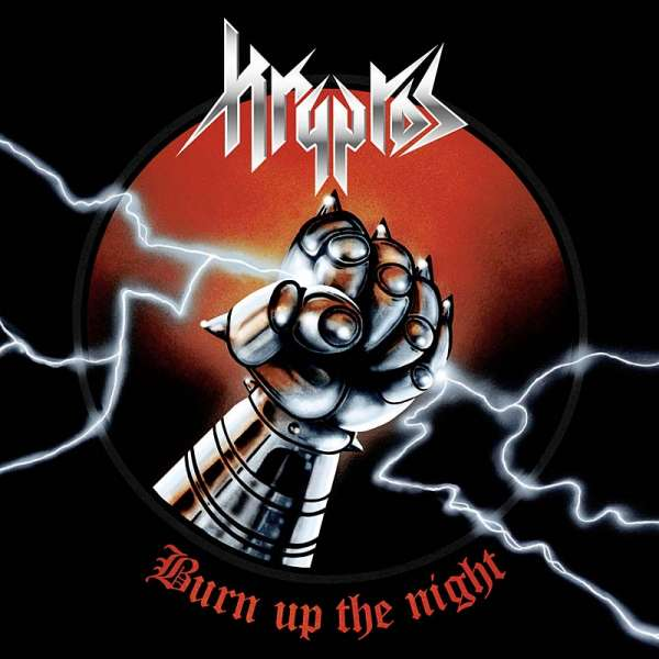 Kryptos - Burn Up The Night - CD Jewelcase