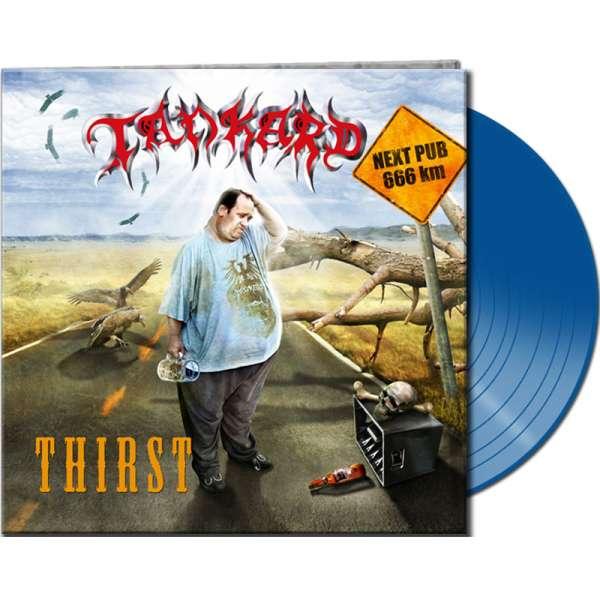TANKARD - Thirst - Ltd. Clear Blue Vinyl