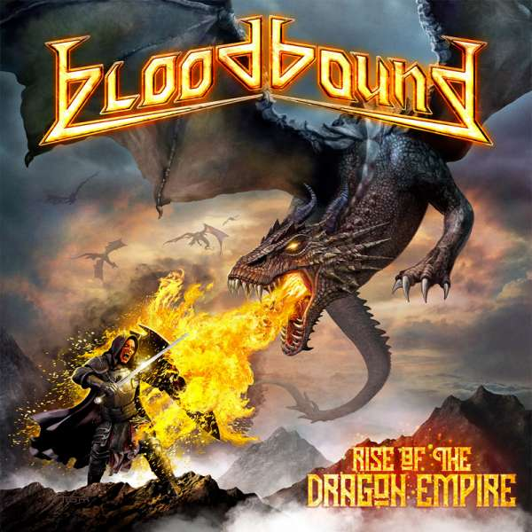 BLOODBOUND - Rise Of The Dragon Empire	- Ltd. Digipak CD+DVD