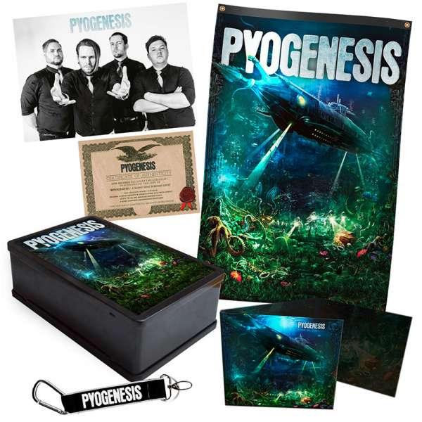 PYOGENESIS - A Silent Soul Screams Loud - Ltd. Boxset
