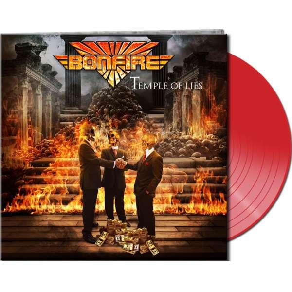 BONFIRE - Temple Of Lies - Ltd. Gtf. Red Vinyl