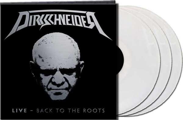 "Dirkschneider - ""LIVE – Back To The Roots"" - Ltd. Gtf. Clear 3-Vinyl"