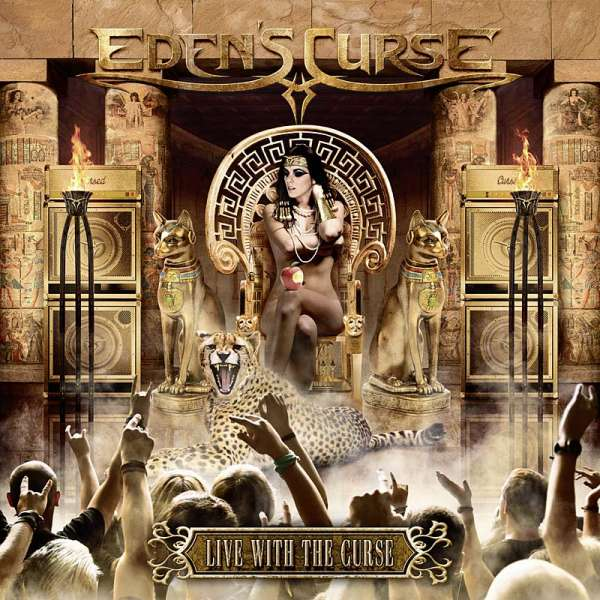 Eden's Curse - Live With The Curse - 2CD Jewelcase
