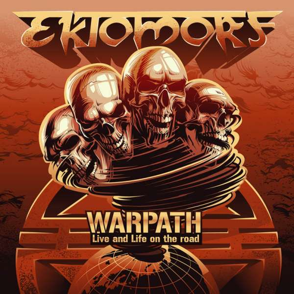 EKTOMORF - Warpath (Live and Life On The Road) DVD/CD
