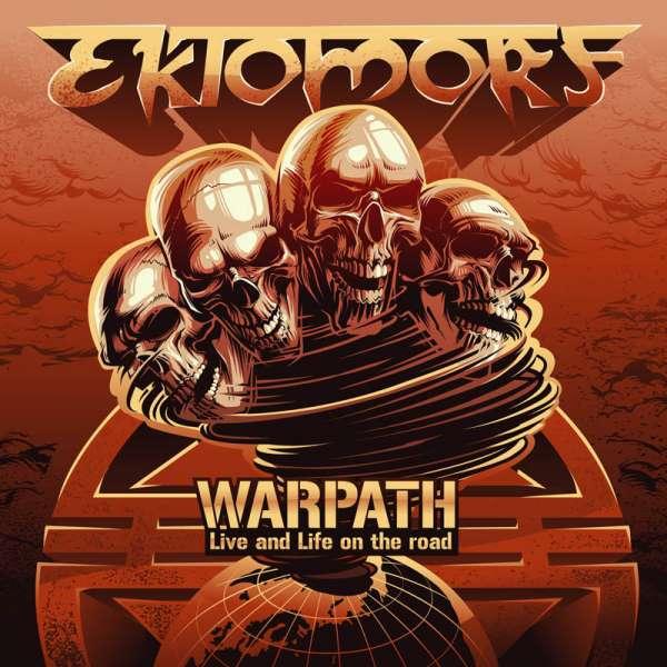 EKTOMORF - Warpath (Live and Life On The Road) DVD/CD