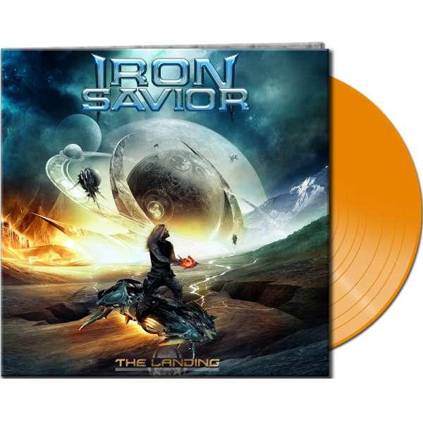 Iron Savior - The Landing - Ltd. Gtf. Clear Orange 180 g Vinyl