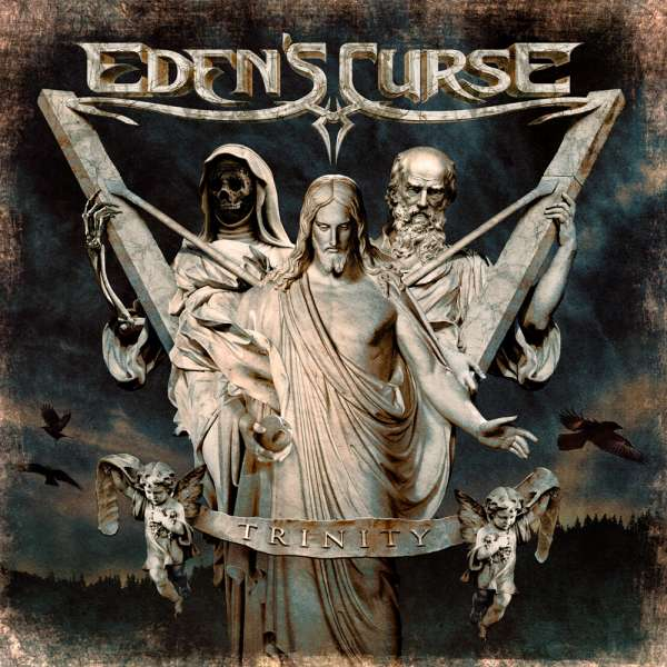 EDEN'S CURSE - Trinity - CD Jewelcase
