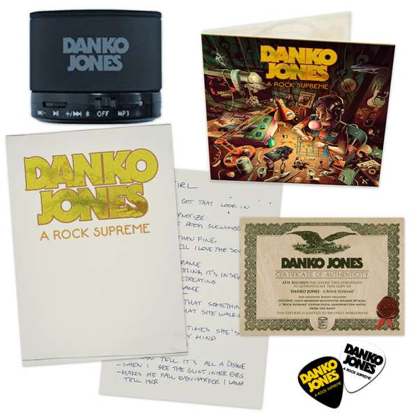 DANKO JONES - A Rock Supreme - Ltd. Boxset