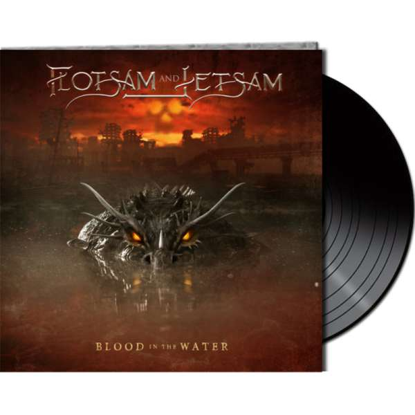 FLOTSAM AND JETSAM - Blood In The Water - Ltd. Gatefold BLACK LP