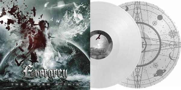 Evergrey - The Storm Within - Ltd. Gtf. 2-Vinyl Weiß