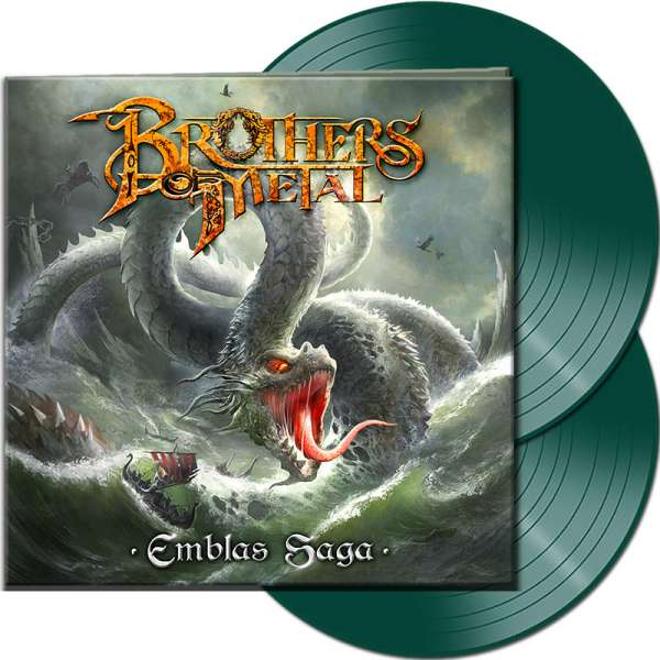BROTHERS OF METAL - Emblas Saga - Ltd. Gatefold GREEN 2-LP