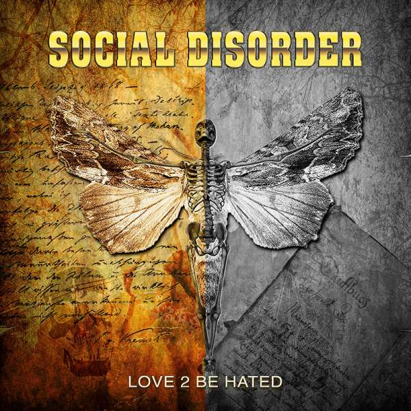 SOCIAL DISORDER - Love 2 Be Hated - CD Jewelcase