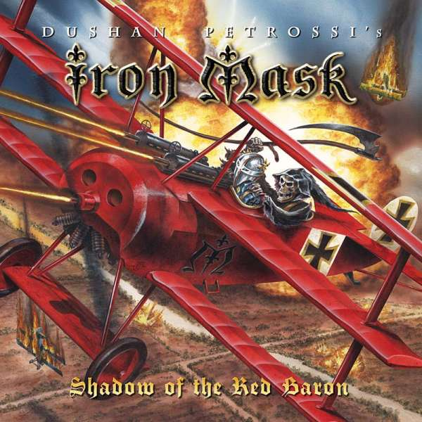 Iron Mask - Shadow Of The Red Baron (Re-Release + Bonus) - CD Jewelcase