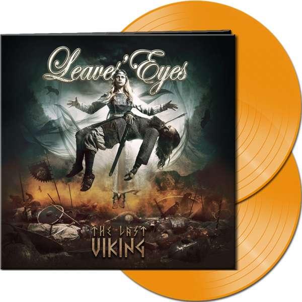 LEAVES' EYES - The Last Viking - Ltd. Gatefold HAZY ORANGE 2-LP
