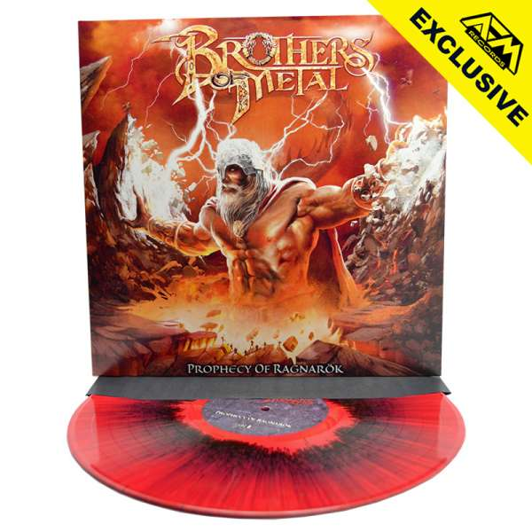 BROTHERS OF METAL - Prophecy Of Ragnarök - Ltd. Gatefold Red/Black Splatter Vinyl - Shop Exclusive!
