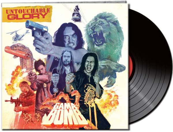 Gama Bomb - Untouchable Glory - Gtf. Black Vinyl
