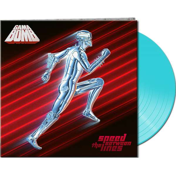 GAMA BOMB - Speed Between The Lines - Ltd. Gatefold TURQUOISE Vinyl