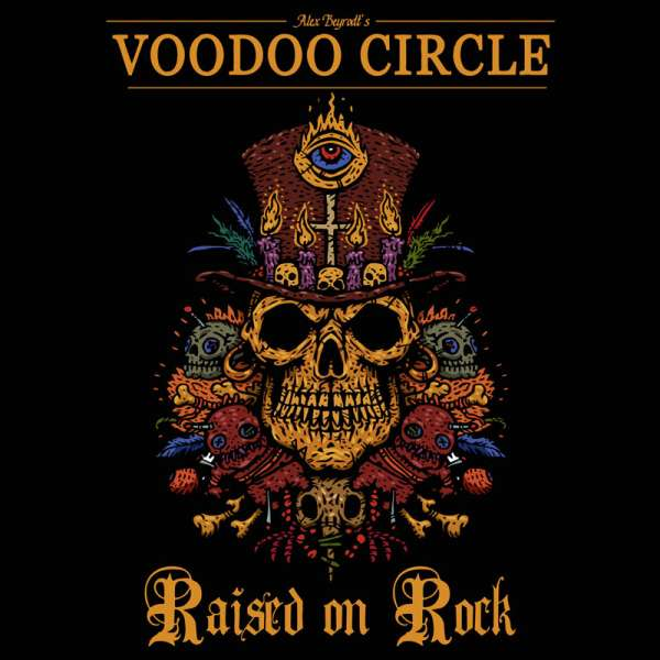 VOODOO CIRCLE - Raised On Rock - CD Jewelcase