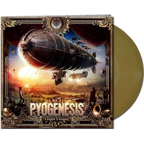 PYOGENESIS – A Kingdom To Disappear - Ltd. Gtf. Gold Vinyl