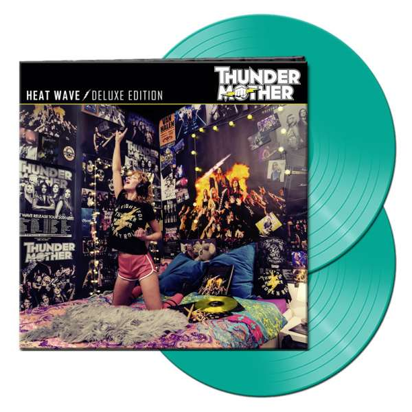 THUNDERMOTHER - Heat Wave (Deluxe Edition) - Ltd. Gatefold MINT 2-LP