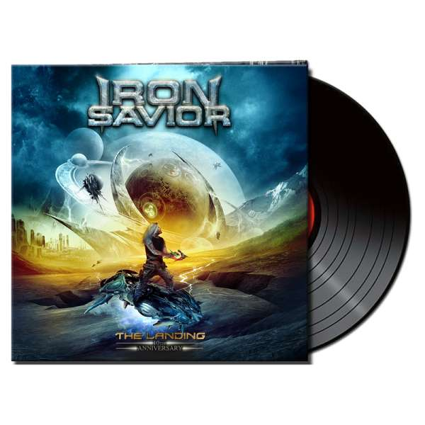 IRON SAVIOR - The Landing (10th Anniversary Edition) - Gatefold BLACK 2-LP