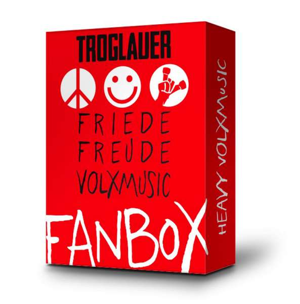 TROGLAUER - Friede Freude Volxmusic - Fanbox - Ltd. Boxset