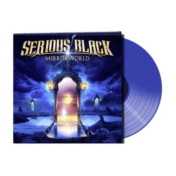 Serious Black - Mirrorworld - Ltd. Gtf. Blue Vinyl
