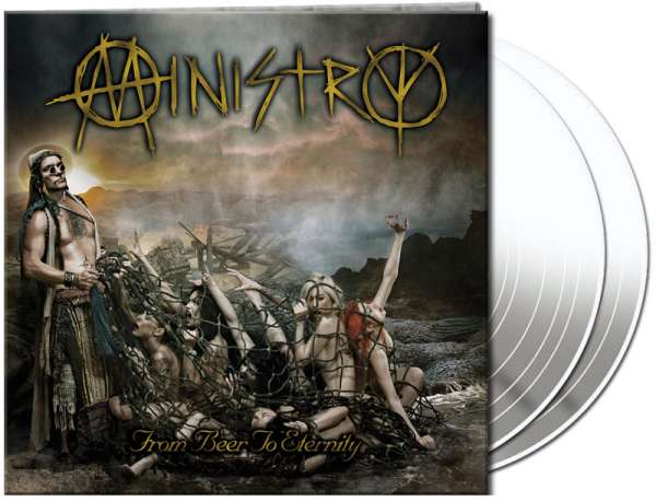 MINISTRY - From Beer To Eternity (2LP - clear)