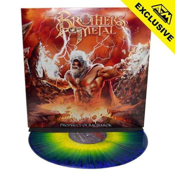 BROTHERS OF METAL - Prophecy Of Ragnarök - Ltd. Gatefold Blue/Yellow Splatter Vinyl - Shop Exclusive