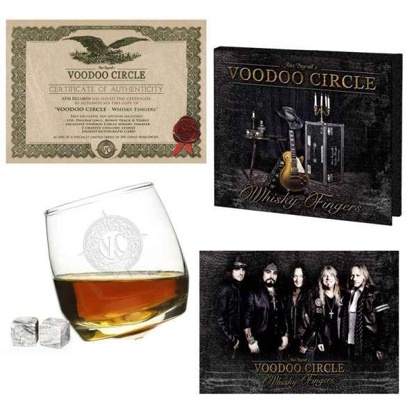 VOODOO CIRCLE - Whisky Fingers - Ltd. Boxset