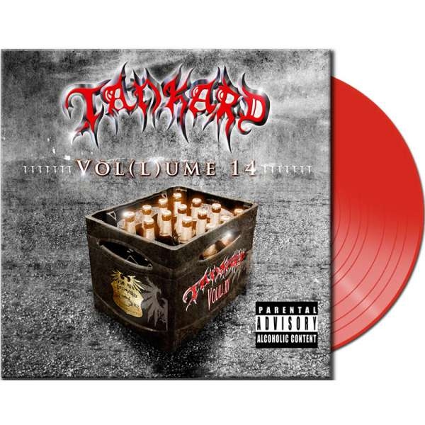 TANKARD - VOL(L)UME 14 - Ltd. Red Vinyl