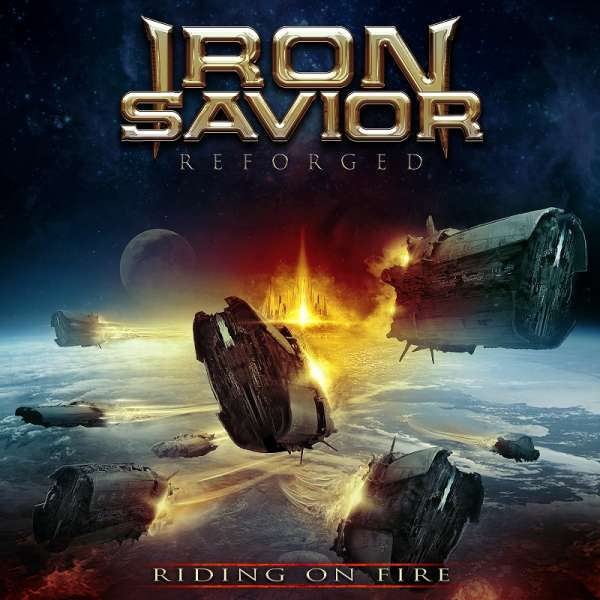 IRON SAVIOR - Reforged - Riding On Fire - 2-CD Digipak