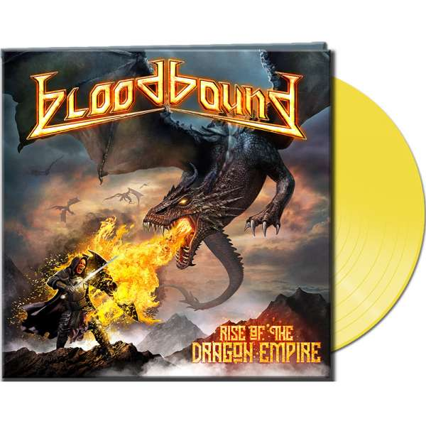 BLOODBOUND - Rise Of The Dragon Empire	- Ltd. Gatefold YELLOW LP