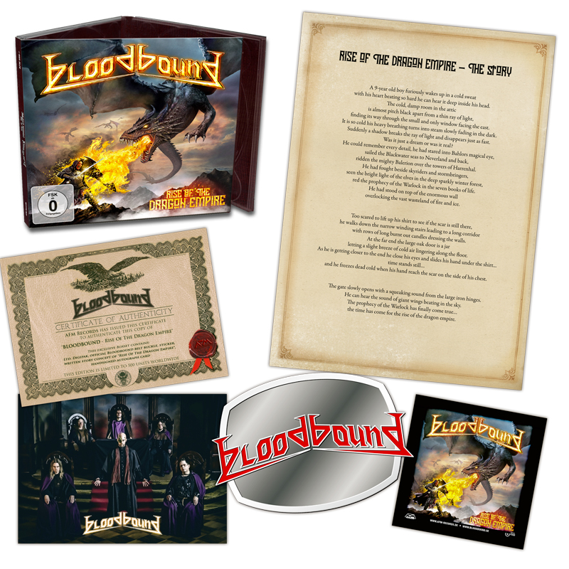 BLOODBOUND - RISE OF THE DRAGON EMPIRE [LTD BOXSET] (2019)