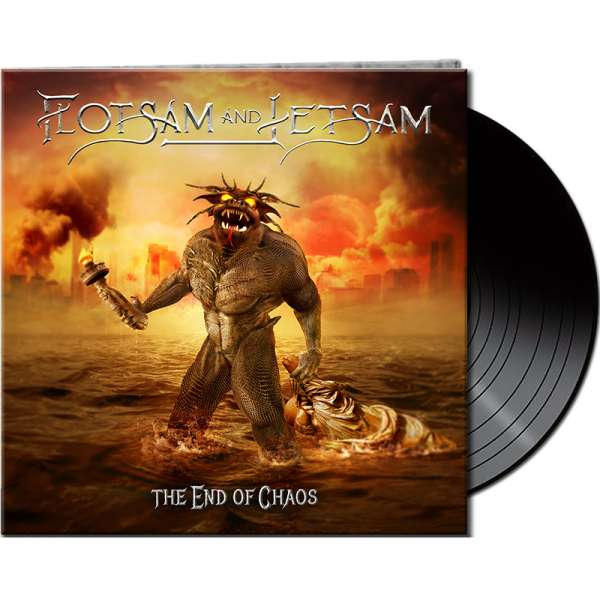 FLOTSAM AND JETSAM - The End Of Chaos - Ltd. Gatefold BLACK Vinyl