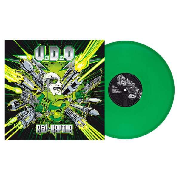 U.D.O. - Rev-Raptor - Ltd. Gtf. Clear-Green Vinyl Re-Release