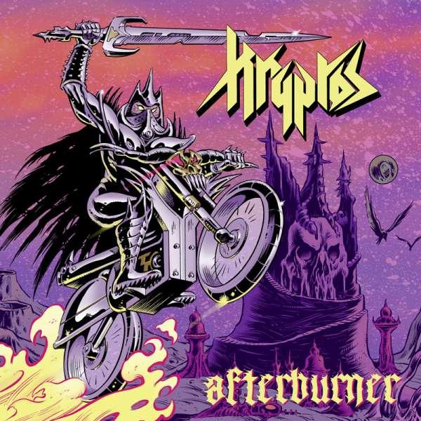 KRYPTOS - Afterburner - CD Jewelcase