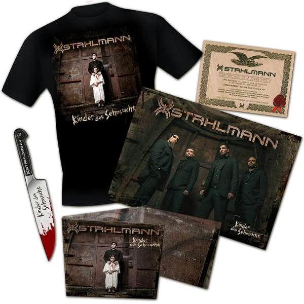 STAHLMANN - Kinder Der Sehnsucht - Ltd. Boxset (incl. T-Shirt M-XXL)