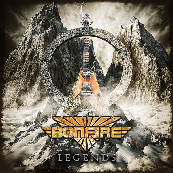 BONFIRE - Legends - 2-CD Jewelcase