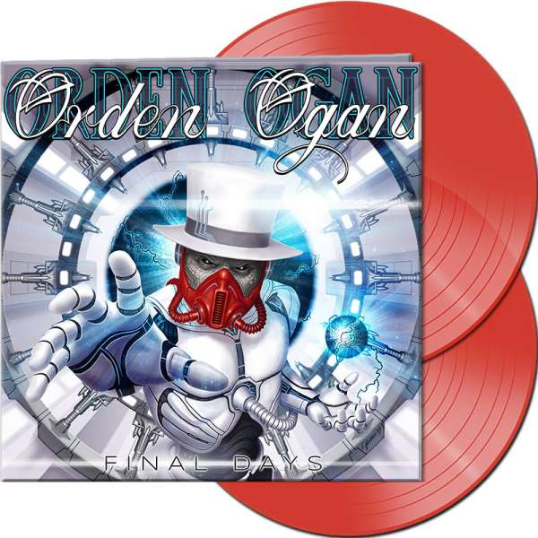 ORDEN OGAN - Final Days - Ltd. Gatefold CLEAR RED 2-LP